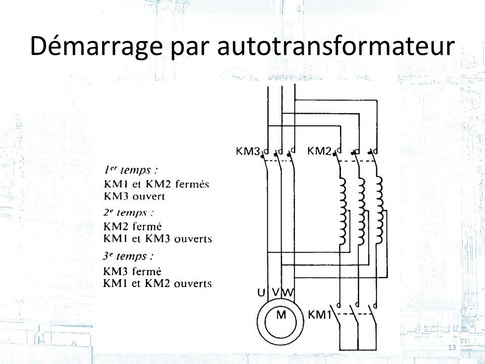Démarrage par autotransformateur 13