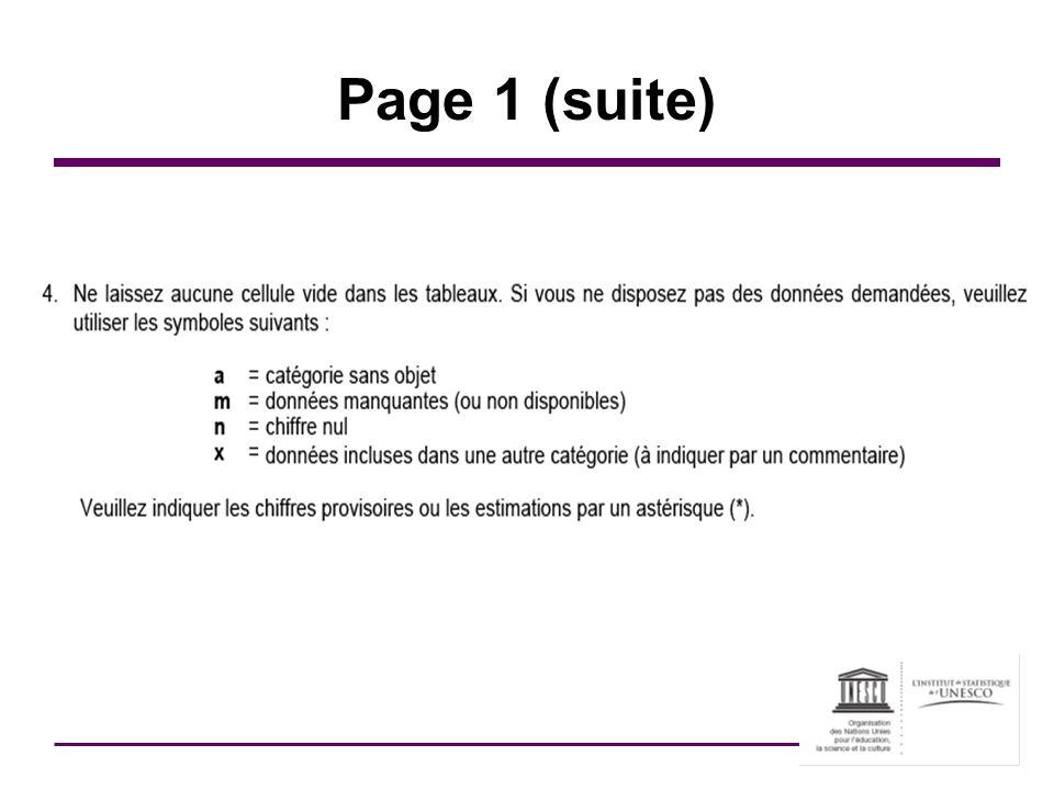 Tableau 6 : Diplômés par domaine détudes Essentiel pour le calcul des taux dobtention de diplôme Assurez-vous de maintenir les inconnus au niveau le plus bas possible