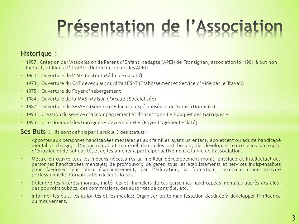 ETABLISSEMENTS & SERVICES Médico Sociaux Chef de service administratif M.