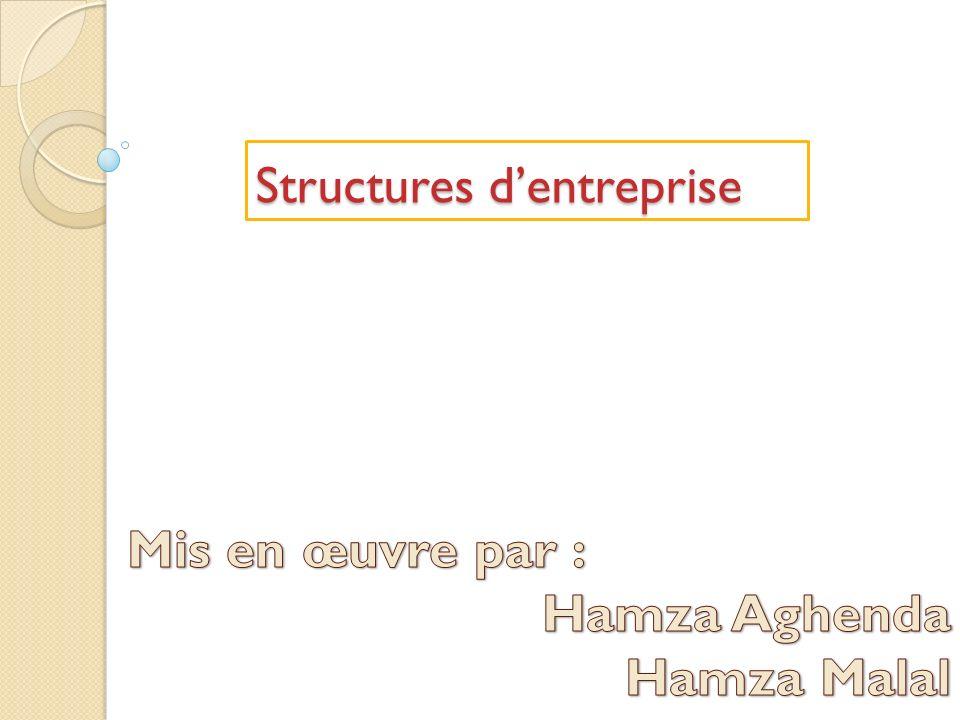 Structures dentreprise