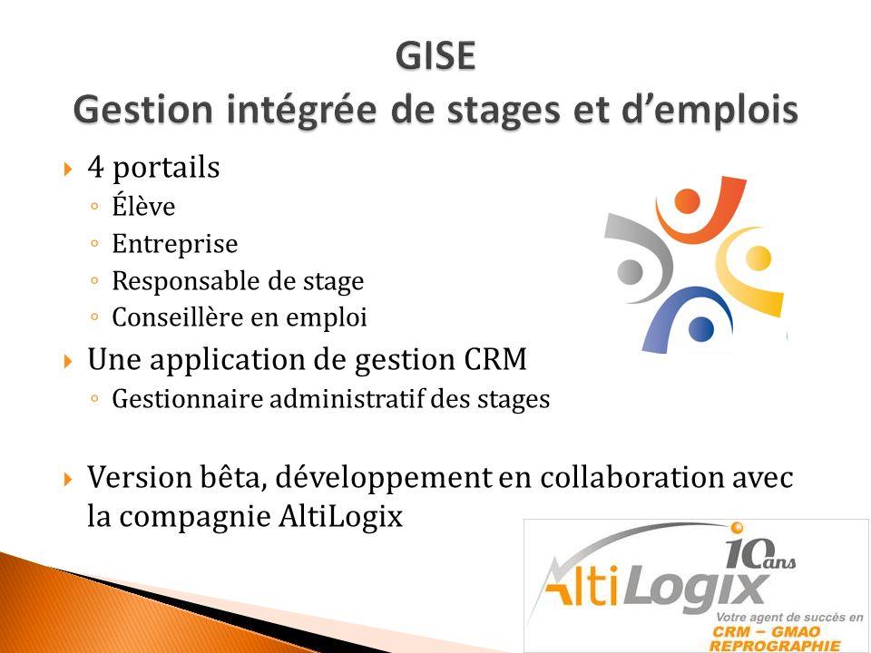1.Planification dun stage par lélève (EL) 2.
