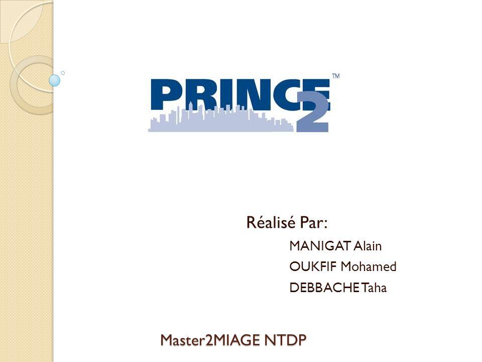 Master2MIAGE NTDP Réalisé Par: MANIGAT Alain OUKFIF Mohamed DEBBACHE Taha