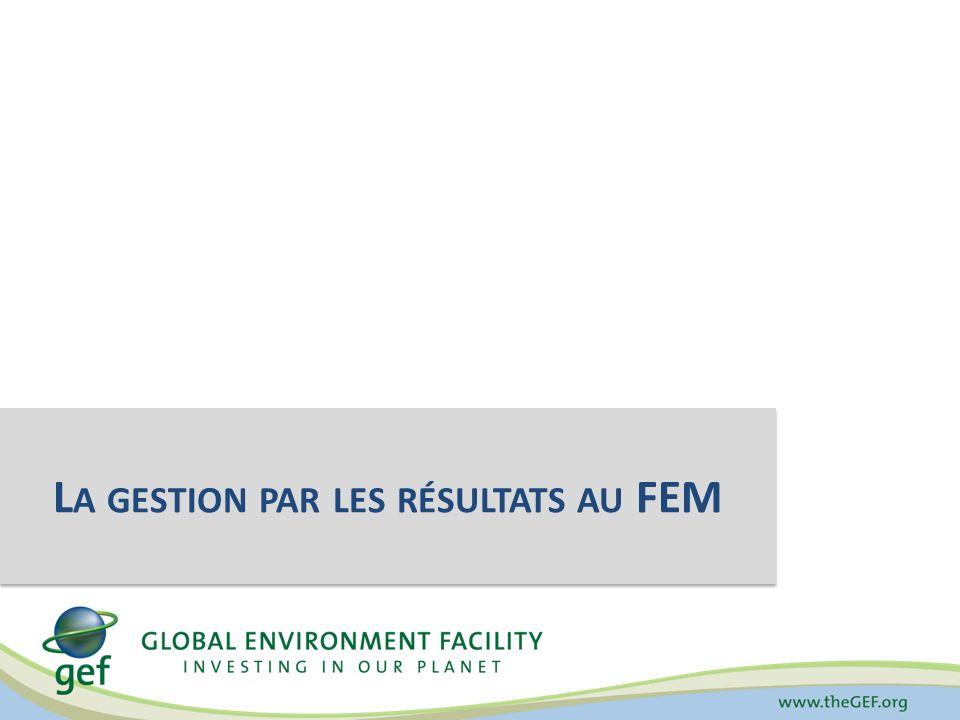 Gestion par les résultats Effets positifs sur lenvironnement mondial Procédures, produits et services de lorganisation Atteindre les résultats souhaités