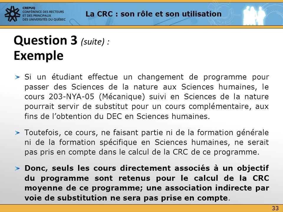 Si un étudiant effectue un changement de programme pour passer des Sciences de la nature aux Sciences humaines, le cours 203-NYA-05 (Mécanique) suivi
