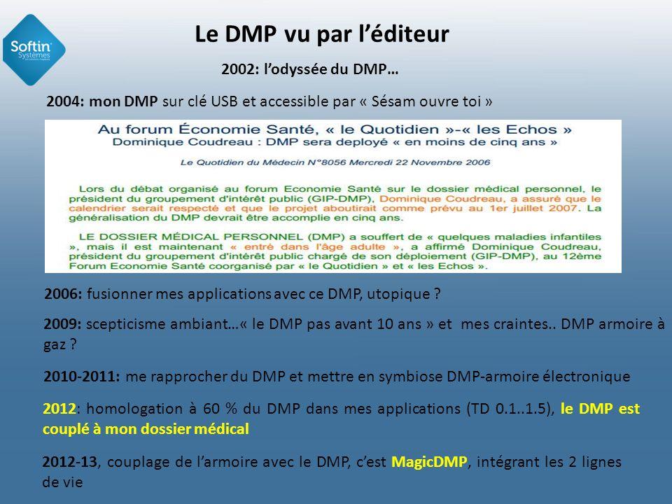 Le DMP vu par léditeur