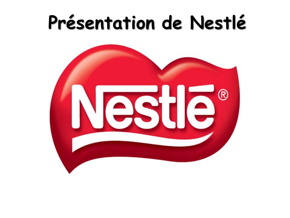 Présentation de Nestlé