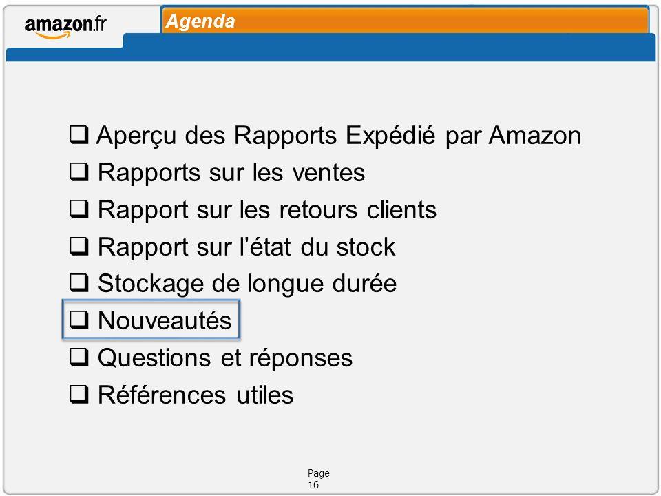 Expédié par Amazon Page 17 Nouveautés LExport pour les commandes Multi-Sites est disponible vers toute lUE:commandes Multi-Sites Les produits Média peuvent être exportés partout dans le monde:exportés