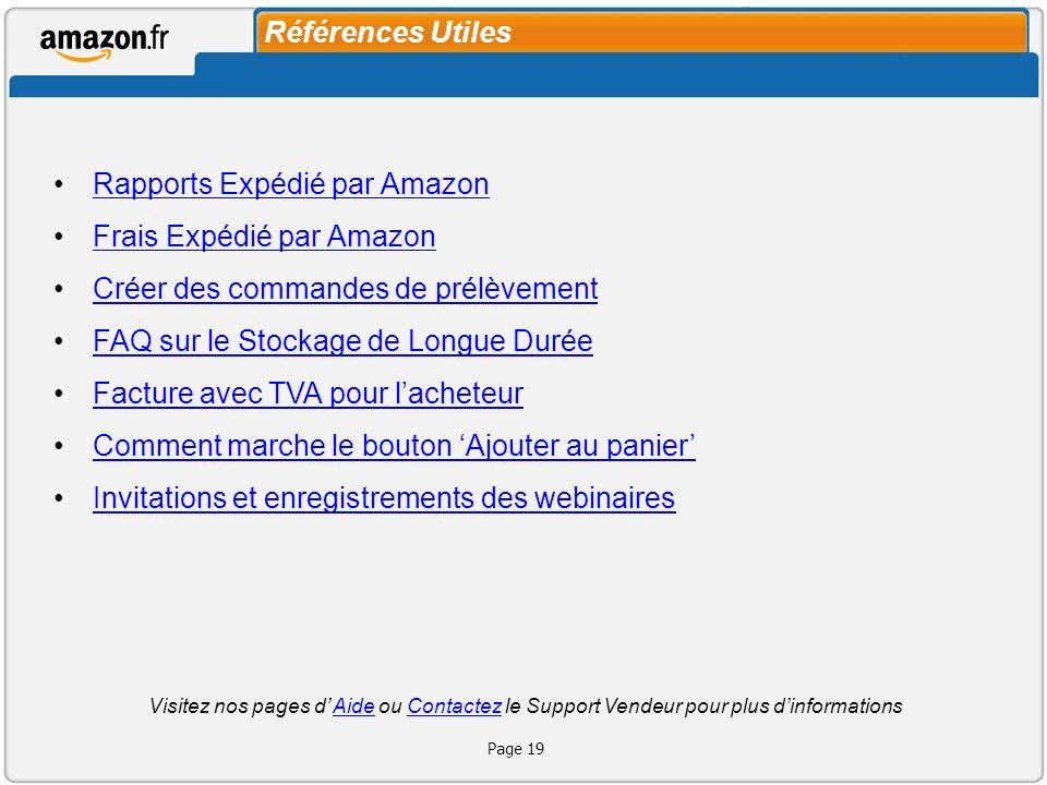 Merci! http://services.amazon.fr/resources/vnements-webinaires/ Page 20