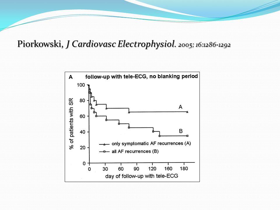 Piorkowski, J Cardiovasc Electrophysiol. 2005; 16:1286-1292
