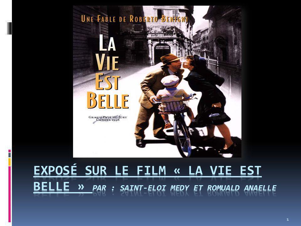 Synopsis: La vie est belle (La vita è bella) est une comédie dramatique écrite et réalisée par Roberto Benigni sorti en 1997.