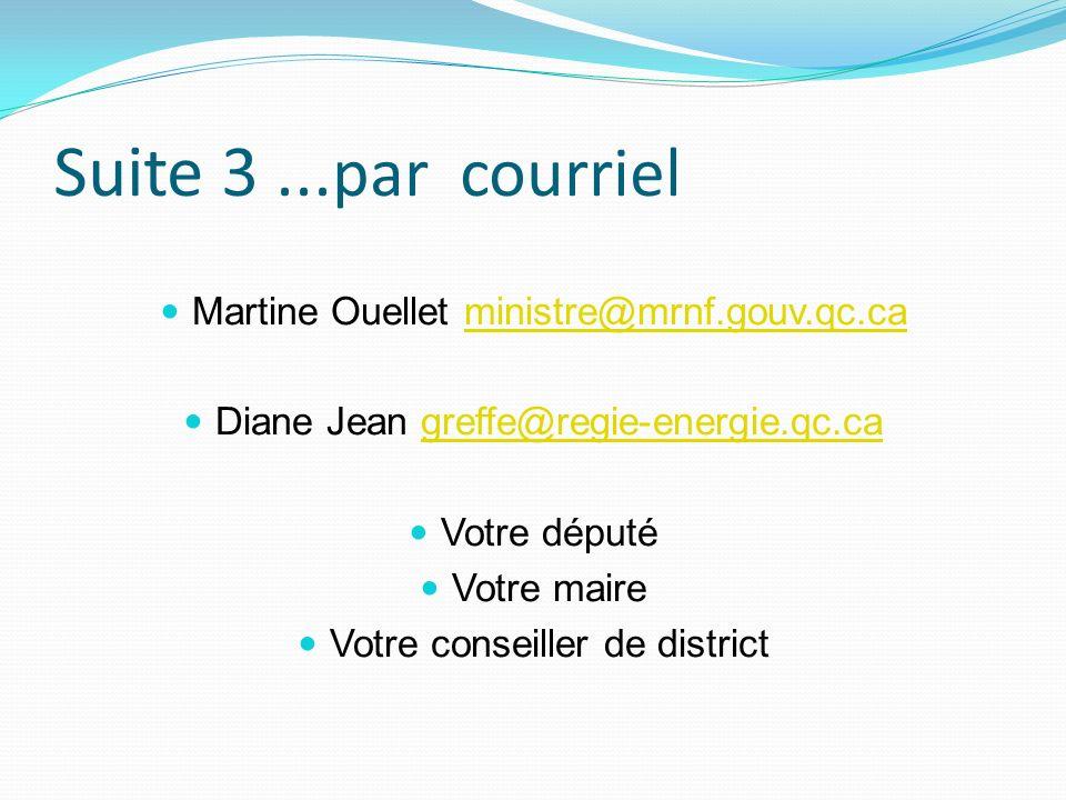 Suite 3... par courriel Martine Ouellet ministre@mrnf.gouv.qc.caministre@mrnf.gouv.qc.ca Diane Jean greffe@regie-energie.qc.cagreffe@regie-energie.qc.