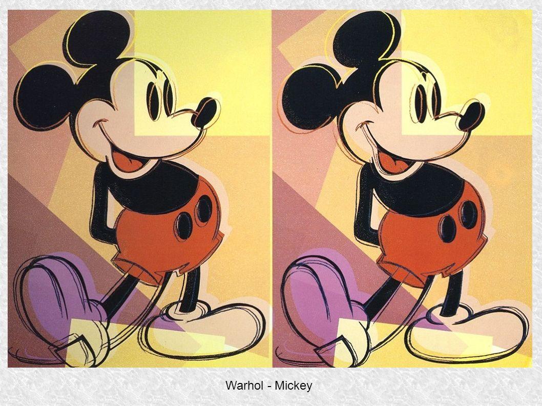 Warhol - Mickey