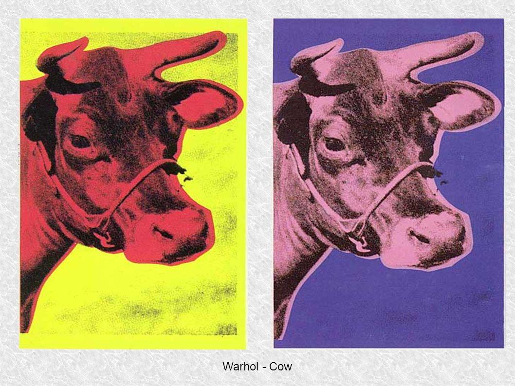 Warhol - Cow