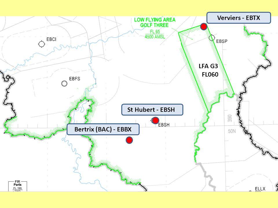 St Hubert - EBSH Verviers - EBTX Bertrix (BAC) - EBBX LFA G3 FL060