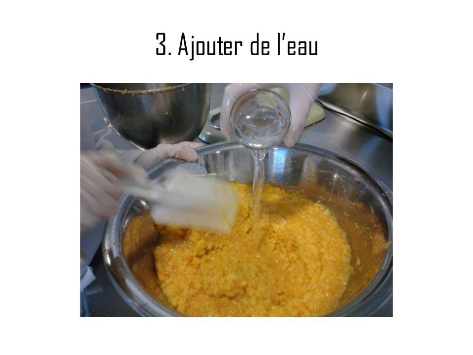 1. Epluchage des pommes
