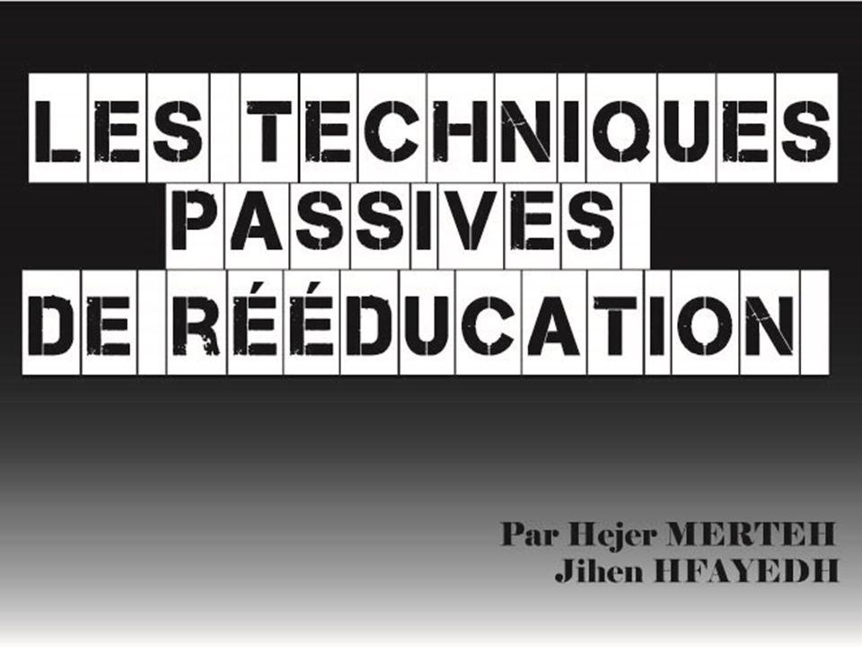 Indications et contre indications des méthodes passives Indication: -Les méthodes passives seront indiquées Lorsque les méthodes actives sont Impossibles.