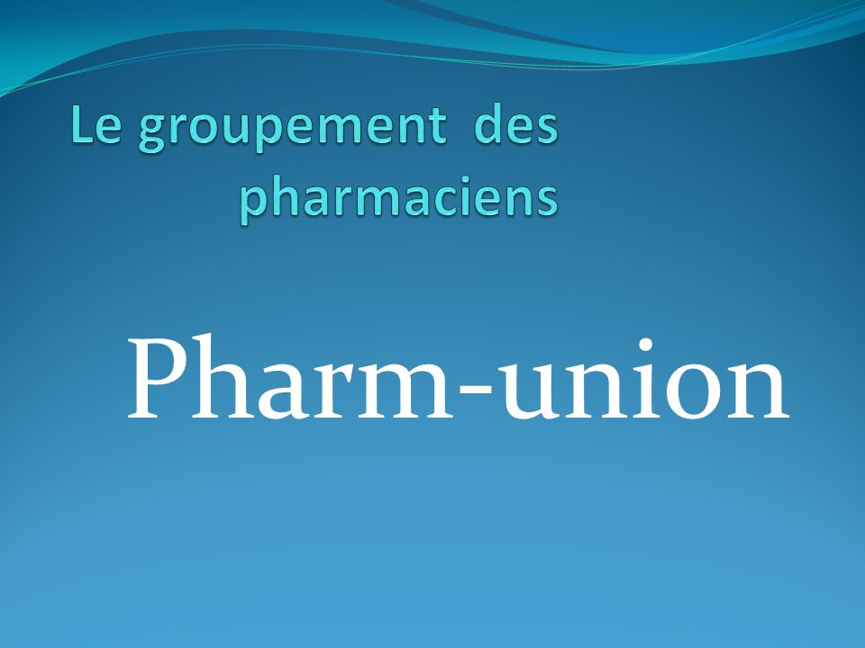 Pharm-union