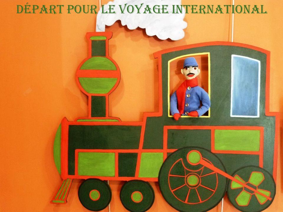 Départ pour le voyage international