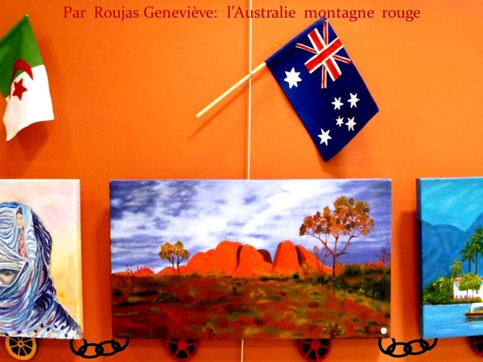 Par Roujas Geneviève: lAustralie montagne rouge