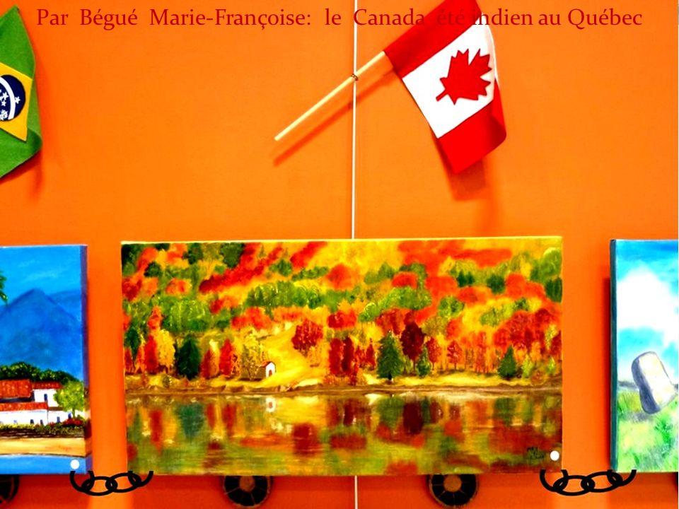 Par Bégué Marie-Françoise: le Canada été indien au Québec