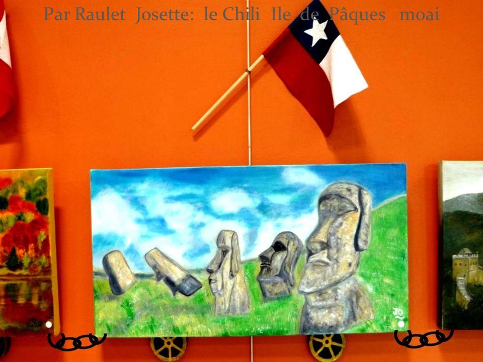 Par Raulet Josette: le Chili Ile de Pâques moai