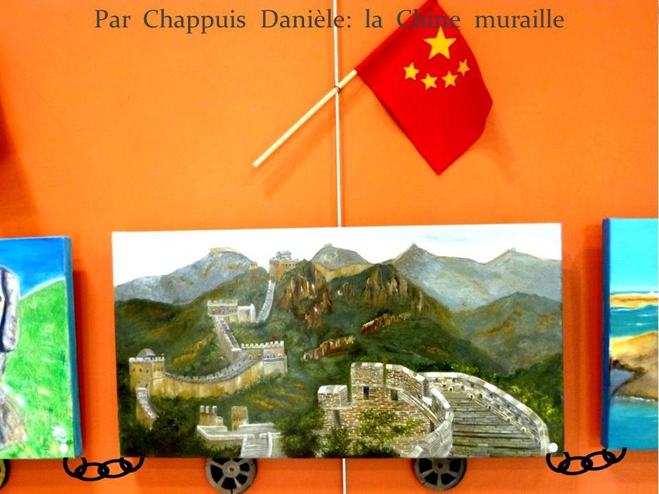 Par Chappuis Danièle: la Chine muraille