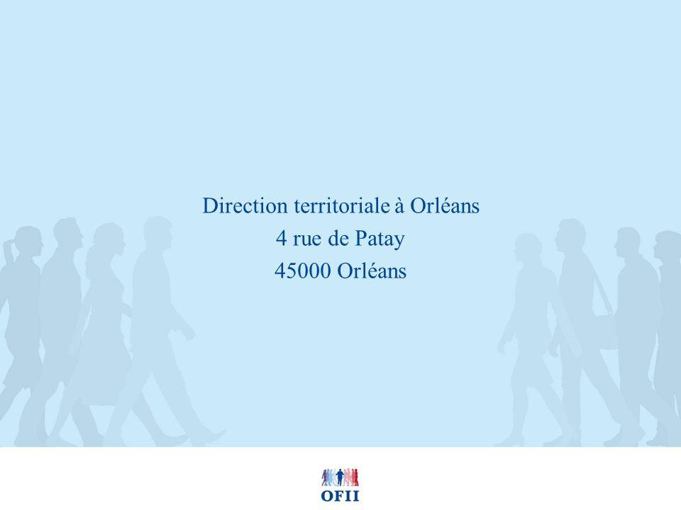 Direction territoriale à Orléans 4 rue de Patay 45000 Orléans
