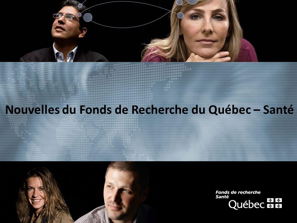 texte Nouvelles du Fonds de Recherche du Québec – Santé