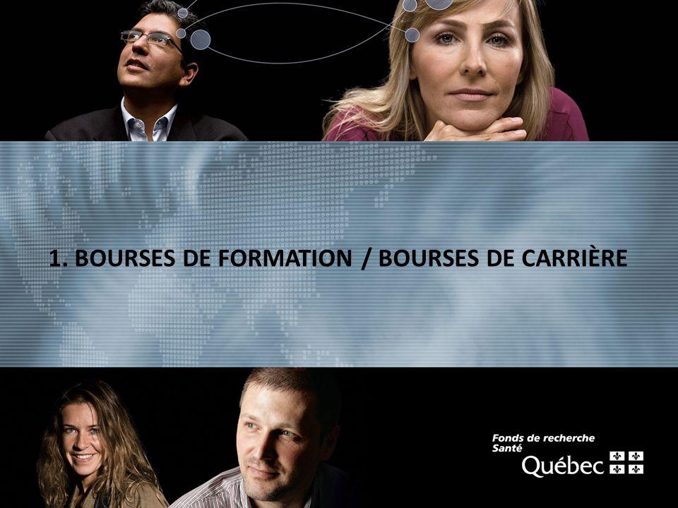 texte 1. BOURSES DE FORMATION / BOURSES DE CARRIÈRE