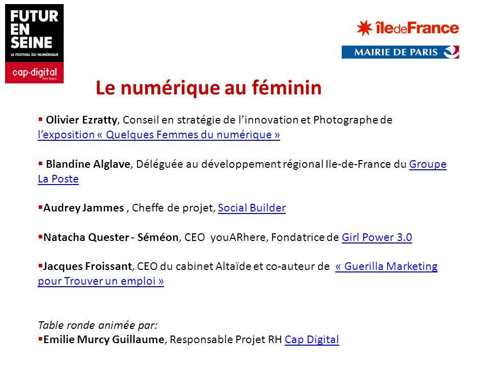 Olivier Ezratty, Conseil en stratégie de linnovation et Photographe de lexposition « Quelques Femmes du numérique » lexposition « Quelques Femmes du n