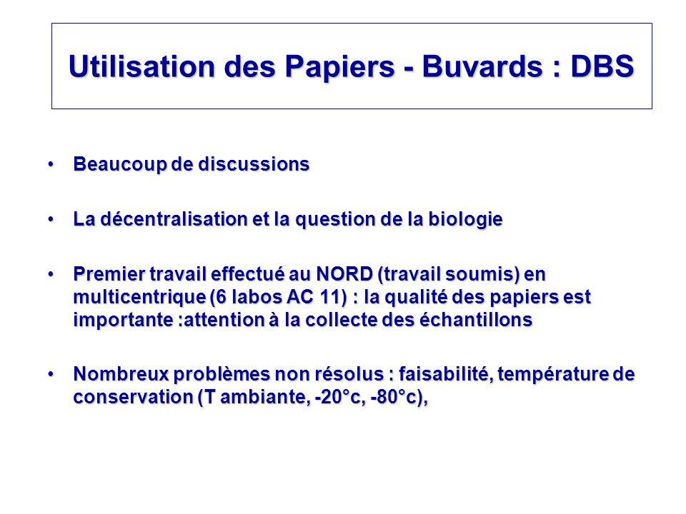 Utilisation des Papiers - Buvards : DBS Beaucoup de discussionsBeaucoup de discussions La décentralisation et la question de la biologieLa décentralis