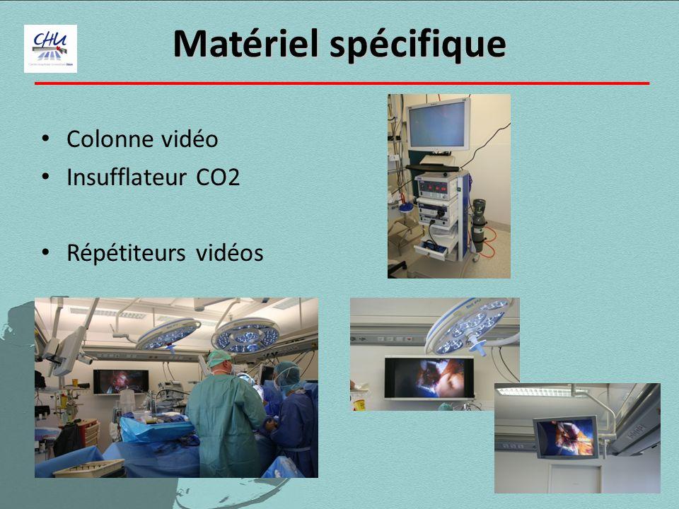 Colonne vidéo Insufflateur CO2 Répétiteurs vidéos Matériel spécifique Matériel spécifique