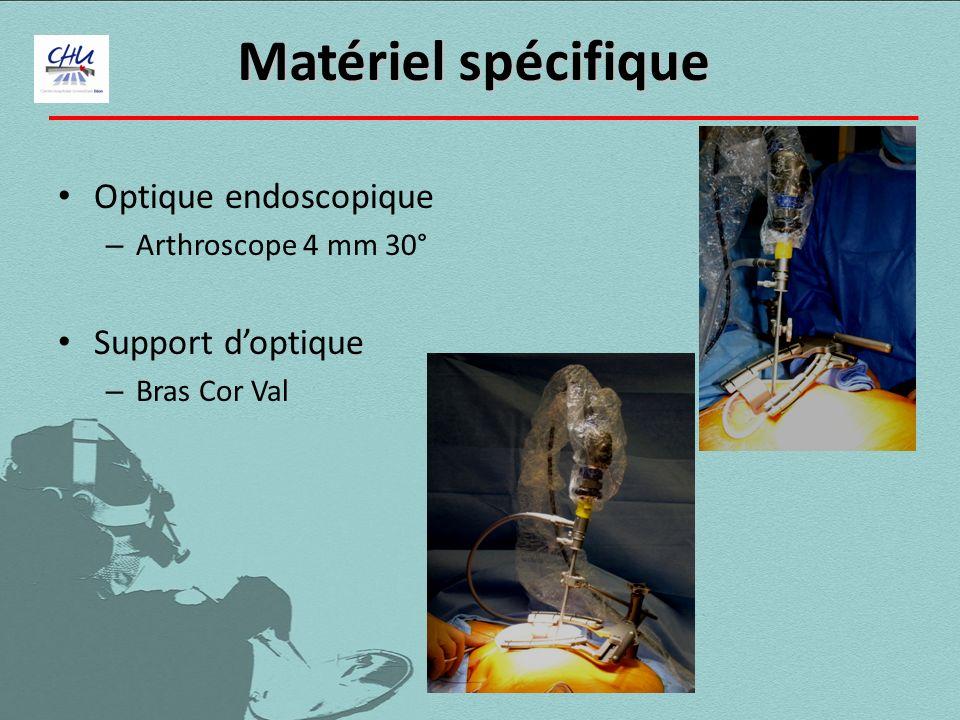 Optique endoscopique – Arthroscope 4 mm 30° Support doptique – Bras Cor Val Matériel spécifique