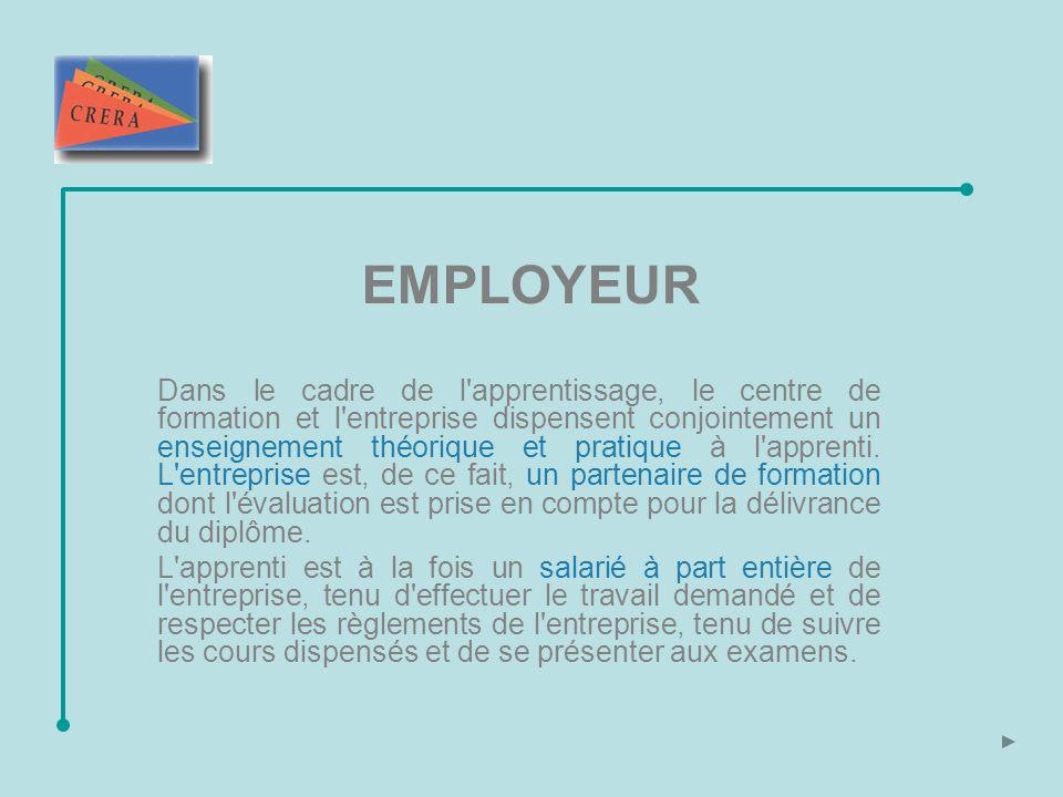 D un point de vue administratif, pour pouvoir accueillir un ou des apprentis, l entreprise doit remplir un formulaire spécifique Déclaration en vue de la formation d apprentis.
