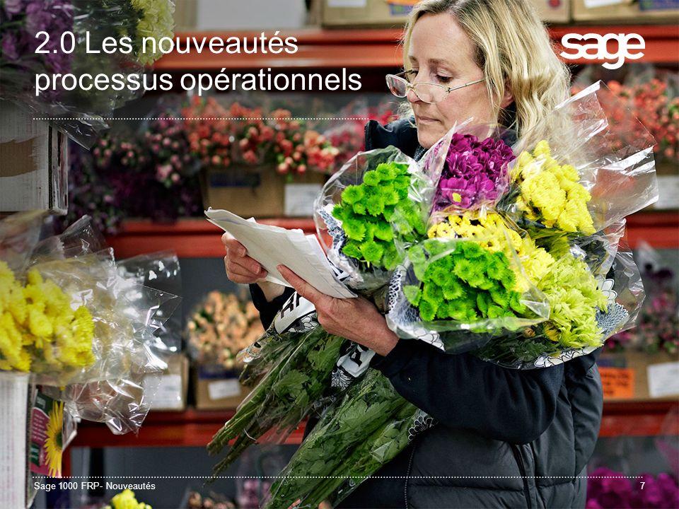 Sage 1000 FRP- Nouveautés38 3.0 Sage Business Mobile