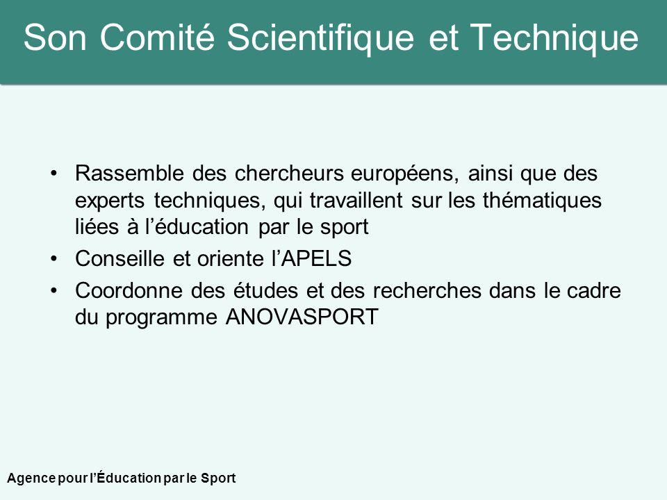 Son Comité Scientifique et Technique Rassemble des chercheurs européens, ainsi que des experts techniques, qui travaillent sur les thématiques liées à
