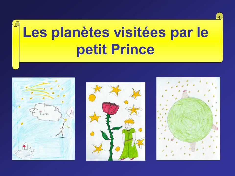 Les planètes visitées par le petit Prince