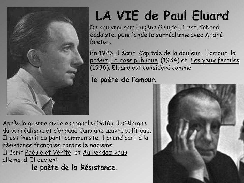 Eluard vu par Salvador Dali. Eluard vu par Pablo Picasso Eluard vu par Fernand Léger