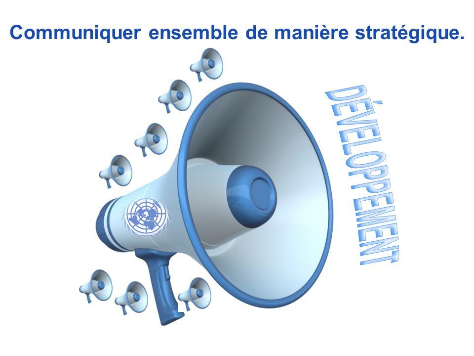 Communiquer ensemble de manière stratégique.