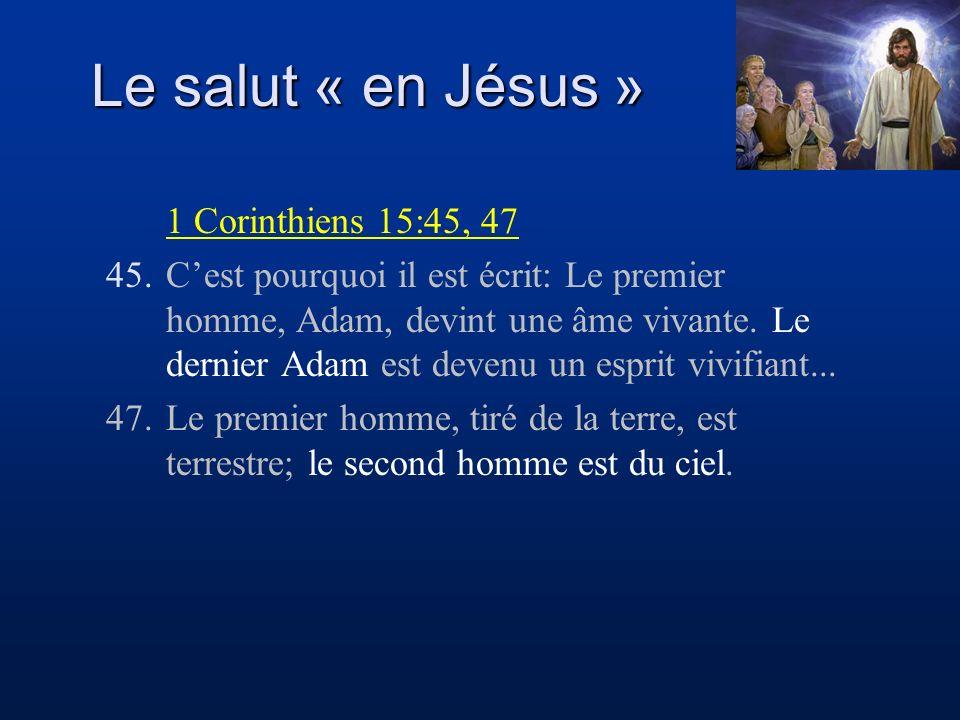 Nos péchés condamnent Christ Nous sommes les membres de son corps Par sa mort et sa résurrection, Jésus a accepté de nous greffer à sa personne et de faire qu un avec Lui.