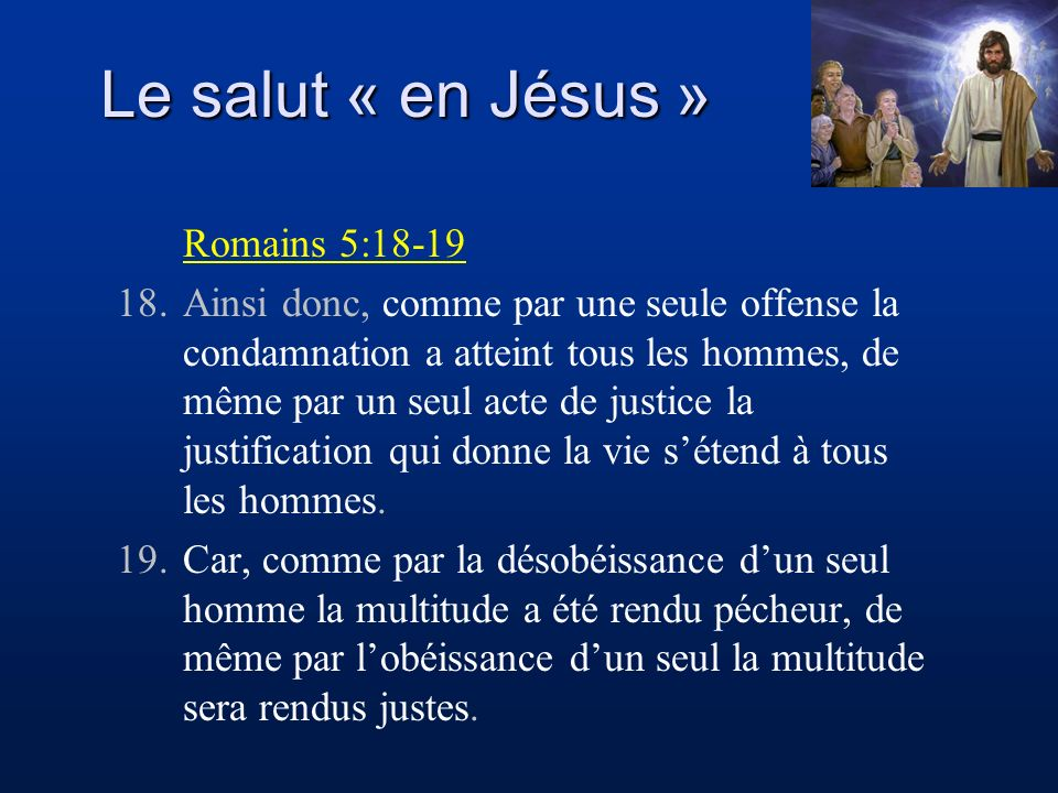 Nos péchés condamnent Christ Jésus doit purifier son corps Cest maintenant lheure du jugement de Dieu.