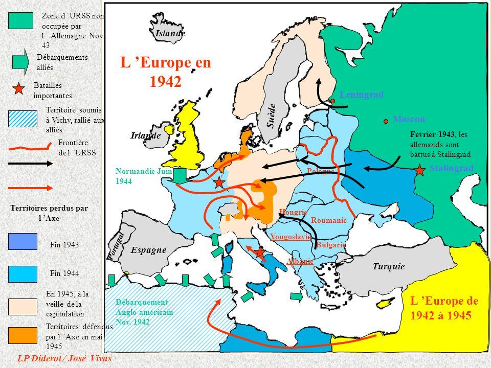 URSS Hongrie Bulgarie Roumanie Grand Reich Italie Espagne Turquie Irlande Suède Irlande Portugal Espagne Turquie Irlande Suède Islande Portugal Stalin