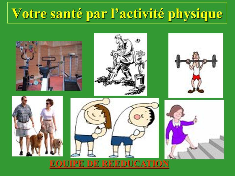 Conférence n°1 : Pourquoi pratiquer de l activité physique à l hôpital.