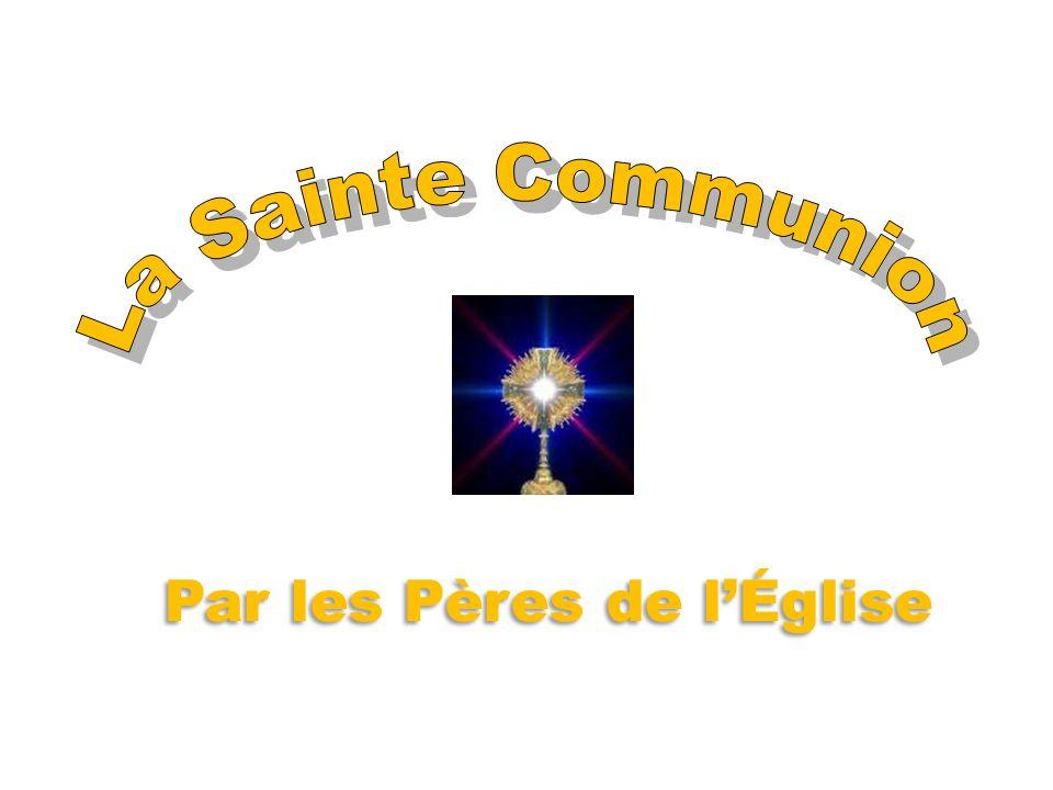 V° Concile de Constantinople (680-681) D ans le V° Concile Œcuménique de Constantinople (680-681), nous pouvons lire quil est interdit aux fidèles de prendre eux-mêmes la Communion et ceux qui osent le faire sont menacés dexcommunion.