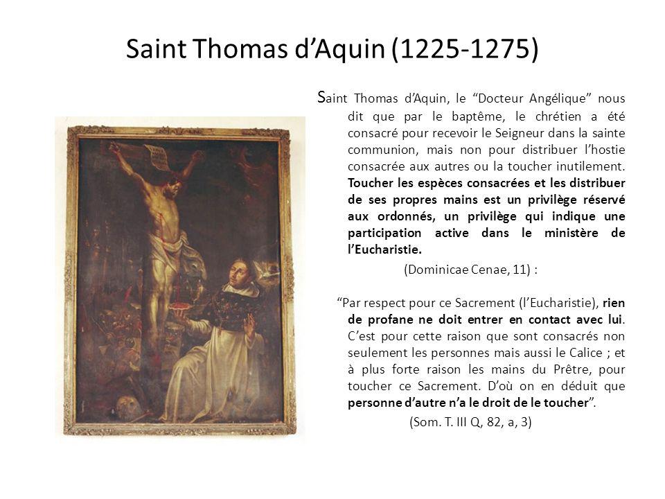 Saint Bonaventure reçoit la communion dans la bouche des mains dun ange (1218-1274) U ne des vertus qui brillaient le plus en Bonaventure, c'était l'h
