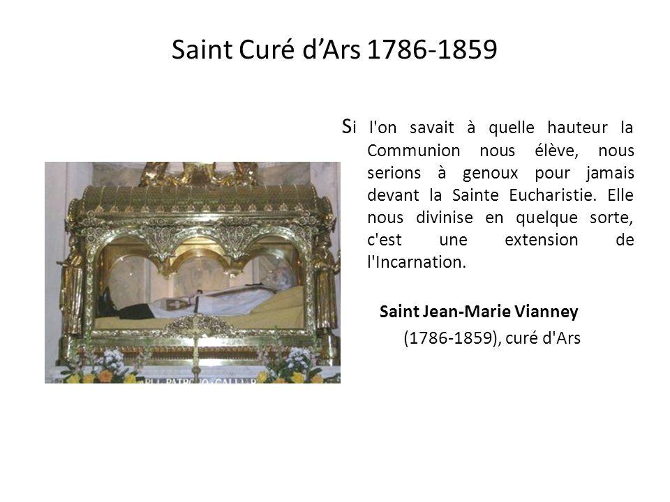 Saint Michel donne la communion à Benoîte Rencurel vers 1693 À 46 ans, Benoîte est en butte aux brimades dune nouvelle équipe de prêtres qui ne croien