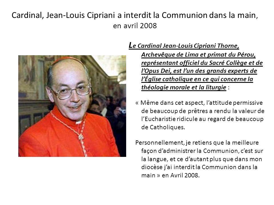 Lévêque Albert Malcolm Ranjith en février 2008 (2 ème partie) Pour le secrétaire du Culte Divin, le manque de recueillement et le grand esprit d'insou