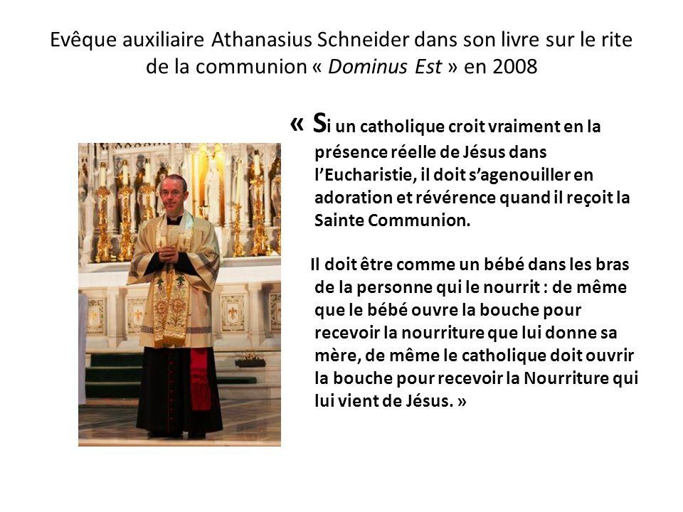 Cardinal, Jean-Louis Cipriani a interdit la Communion dans la main, en avril 2008 L e Cardinal Jean-Louis Cipriani Thorne, Archevêque de Lima et prima