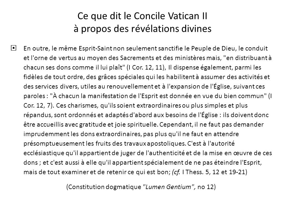 Abus rapportés 3 « Notre prêtre la dit dernièrement que certaines personnes ici, qui reçoivent la Communion dans la main, embrassent lHostie avant de
