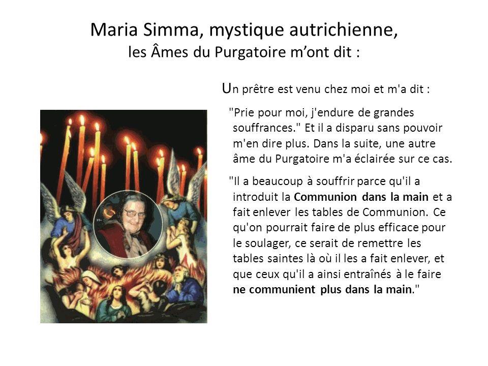 Ce que dit le Concile Vatican II à propos des révélations divines En outre, le même Esprit-Saint non seulement sanctifie le Peuple de Dieu, le conduit